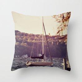 Sail Less Throw Pillow