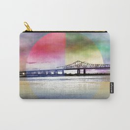 Crescent City Connection Bridge Carry-All Pouch