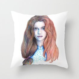 Get Some Color Throw Pillow