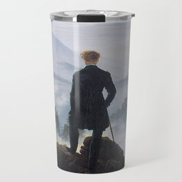 Caspar David Friedrich - Wanderer above the sea of fog Travel Mug