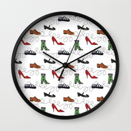My new shoes Wall Clock