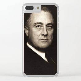 Franklin D. Roosevelt, about 1932 Clear iPhone Case