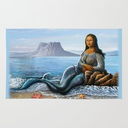 Monalisa Mermaid Rug