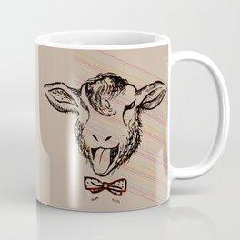 Cheeky sheep with a bow tie II Coffee Mug