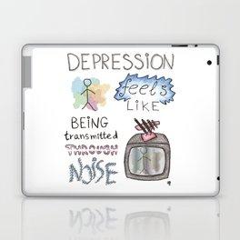 depression feels Laptop & iPad Skin