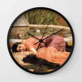 Dolce far Niente Wall Clock
