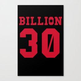 30Billion - Sport Edition 03 Canvas Print