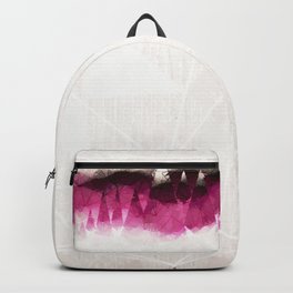 Modern Wine Geometrical Pattern Abstract Backpack