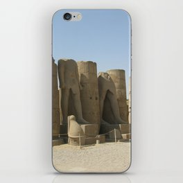 Temple of Luxor, no. 5 iPhone Skin