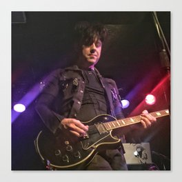 Ronny Moorings of Clan of Xymox Canvas Print