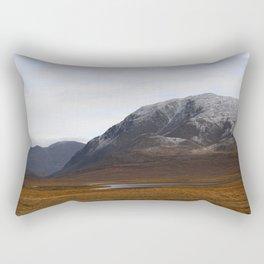 Alaska Range in Autumn Rectangular Pillow