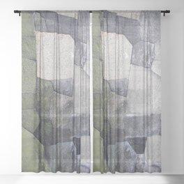 An imperial wall Sheer Curtain
