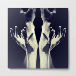 """Hands  2018 """"愛は無限の貌を持つ"""" Metal Print"""