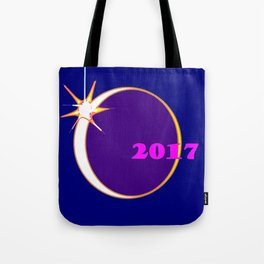 The Upcoming Eclipse of the Sun Event 2017 Tote Bag