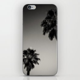 Why are palm trees so damn happy? iPhone Skin
