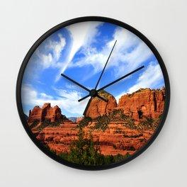 Red Rocks of Sedona Wall Clock