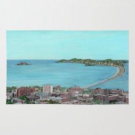 Ocean Lynn Massachusetts Nahant Egg Rock City Rug