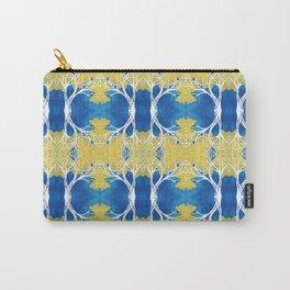 CortezAmarillo Tree Pattern Design Carry-All Pouch