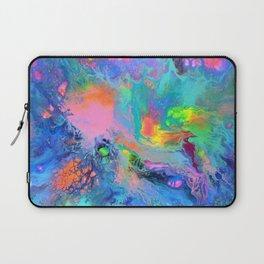Fusion - Fluid Abstract Art Laptop Sleeve