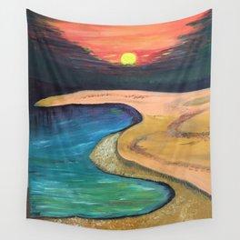 Sun set Wall Tapestry
