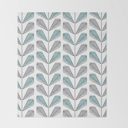 Collection Leaves Throw Blanket