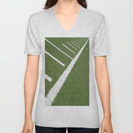 Football Lines Unisex V-Neck