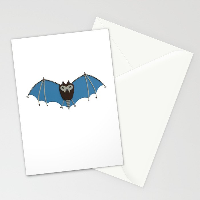 The bat! Stationery Cards
