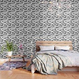 Doodle acorns autumn pattern Wallpaper