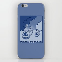 Make It Rain iPhone Skin
