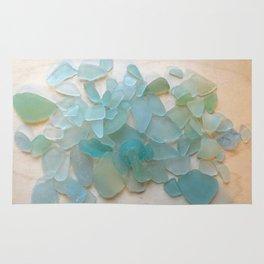 Ocean Hue Sea Glass Rug