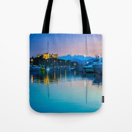 Port Vauban Antibes Tote Bag