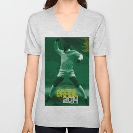 World Cup: Brazil 2014 Unisex V-Neck
