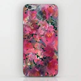 Red Rose Garden iPhone Skin