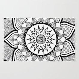 9-Pointed Mandala Rug