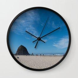 Haystack Rock, Cannon Beach Wall Clock