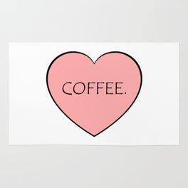 Coffee. Rug