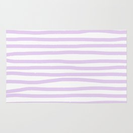 Lavender Stripes Rug