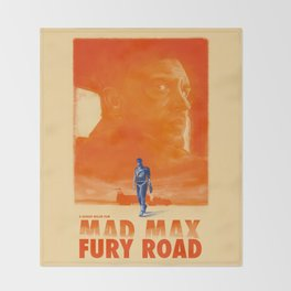 Mad Max: Fury Road Throw Blanket