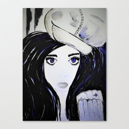 Melinda. Illustrated from the book Tempting Tempo by Author Michelle Mankin. Canvas Print
