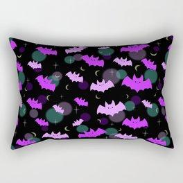 Pastel Bats Rectangular Pillow