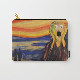The Screamer - Really Freaked Out Carry-All Pouch