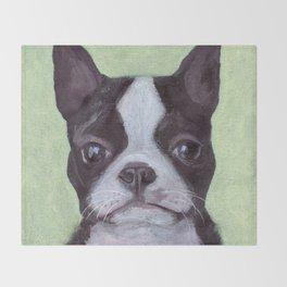 Jackson the Dog Throw Blanket