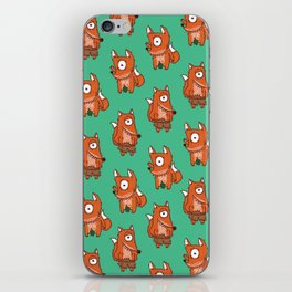 Cyclope Foxes iPhone Skin
