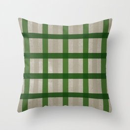 Evergreen Cozy Cabin Plaid Throw Pillow