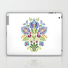 Hungarian Folk Design Violet Laptop & iPad Skin