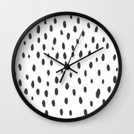 brushstrokes Wall Clock