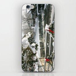Chagrin Falls Winter  iPhone Skin