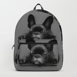 french dog stereo Backpack