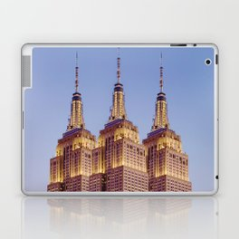 Empire State Building Surreal New York Skyline Laptop & iPad Skin