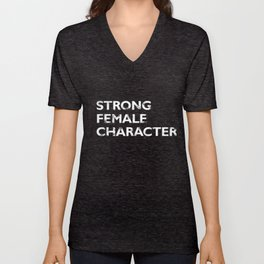 Strong Female Character Unisex V-Neck